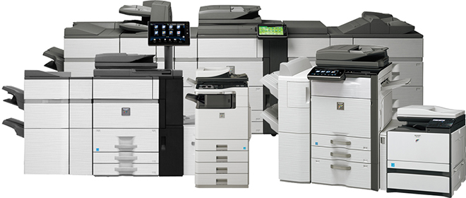 Sharp Copiers And MFPs
